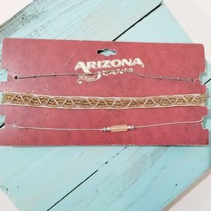NWT Arizona Jean Co. Choker Set of 3 D5